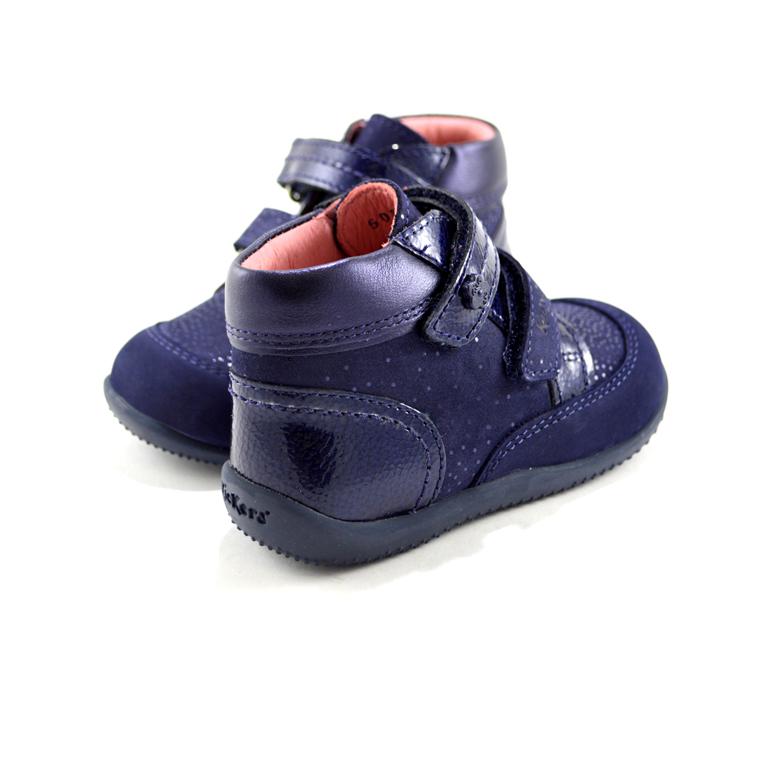 new styles e01ea 1fd81 Kickers - Scarpe con strappo blu marino
