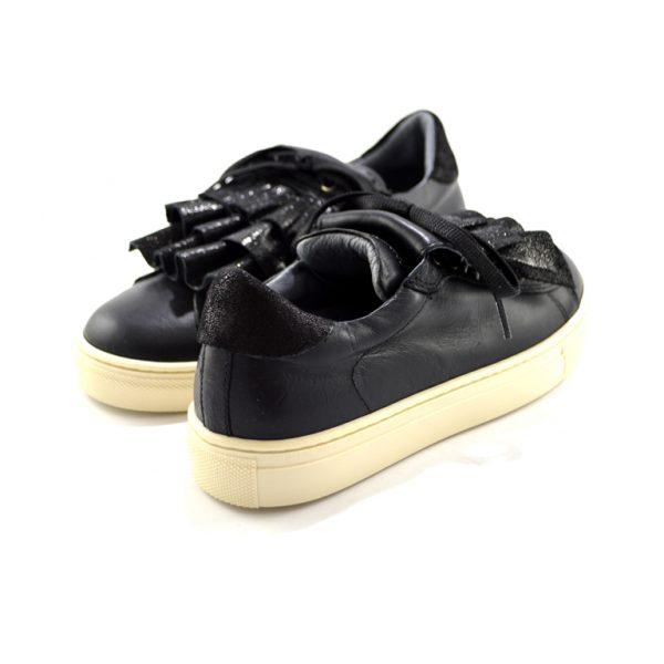sneakers nere basse con frangia