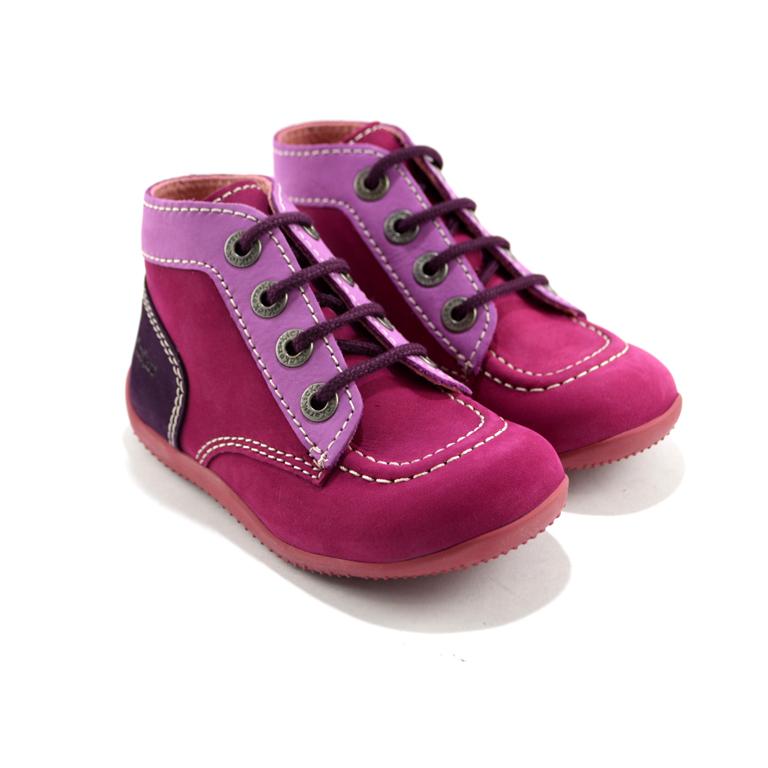 new product fe187 808a1 Kickers - Scarpe viola per bambina