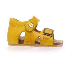 Falcotto, Bea, sandalo, giallo, profilo