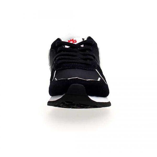 Wizz, blu scuro, lacci, sneakers, fronte