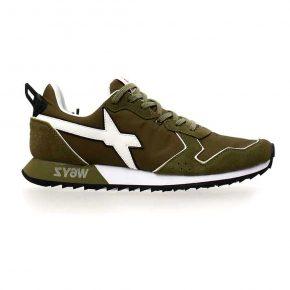 Wizz, militare, lacci, sneakers, profilo