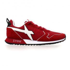 Sneakers Wizz rossa con lacci