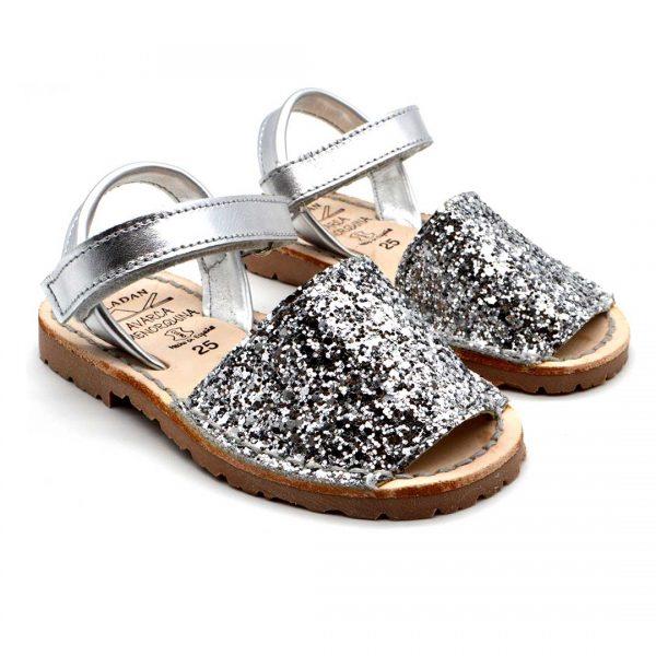 Le Minorchine 35 glitter argento3