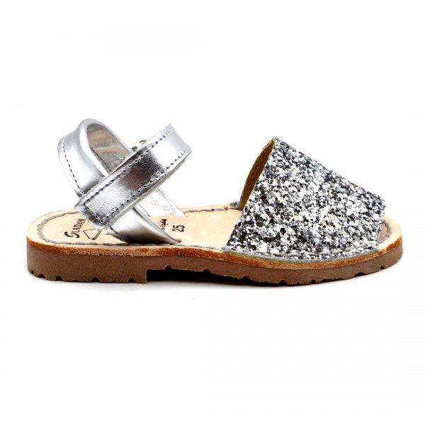 Le Minorchine 35 glitter argento