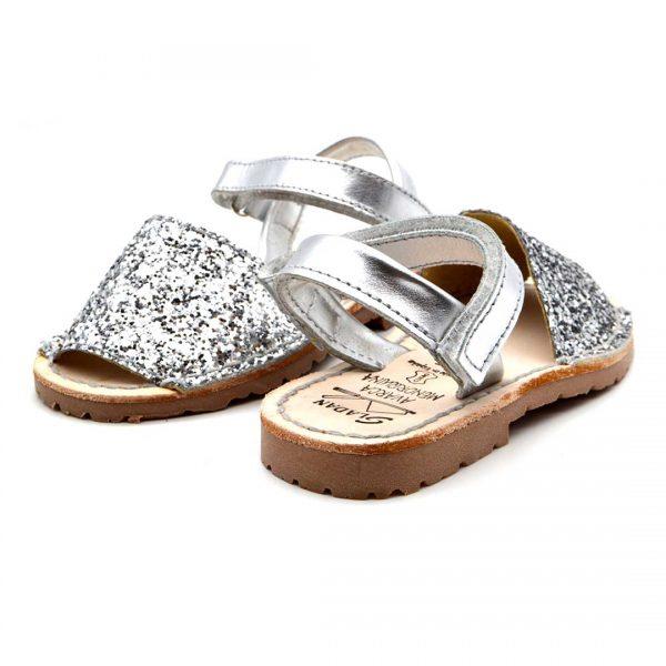 Le Minorchine 35 glitter argento2