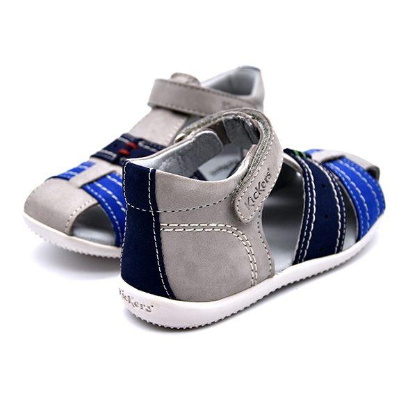 kickers, bigbazar 2, blu bianco azzurro, retro