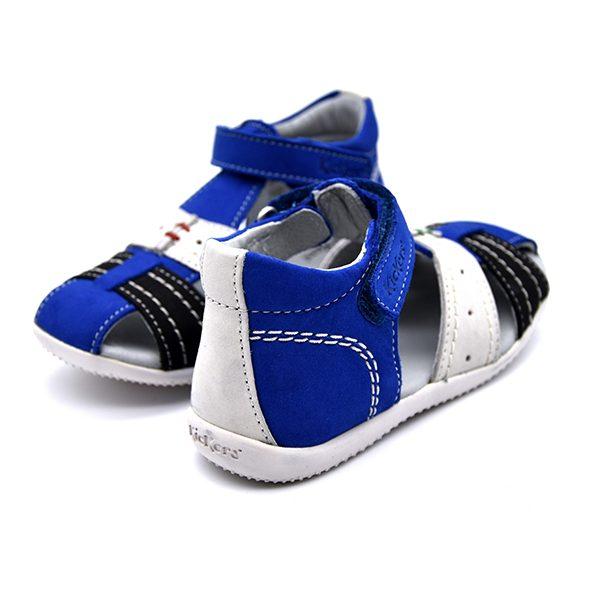 kickers, bigbazar, blu bianco azzurro, retro
