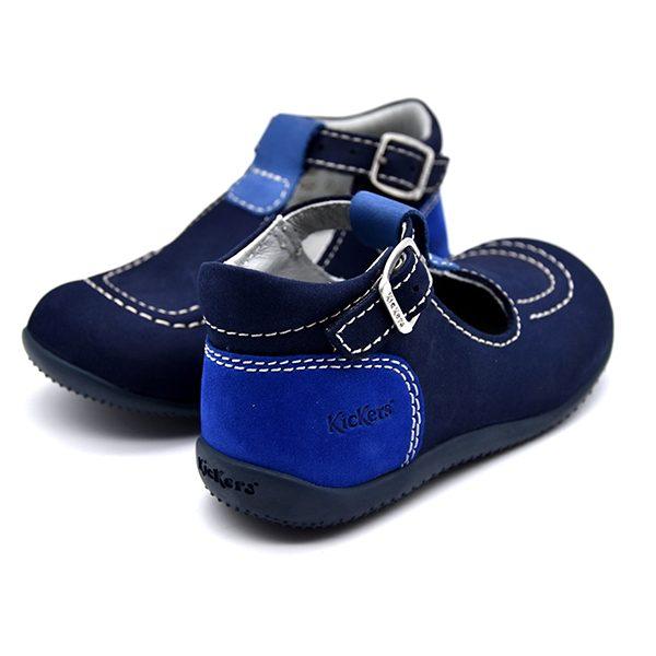 kickers, bonbek, azzurro e blu, retro