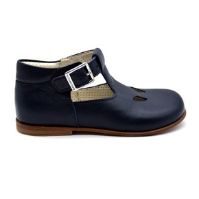 zecchino d'oro, sandalo con occhi, blu, profilo