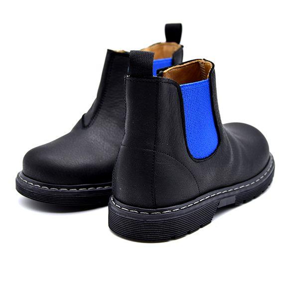 Zecchino D'Oro, fascia blu e zip, nero, retro