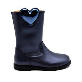 Zecchino D'Oro, stivale, cuore blu, blu, profilo