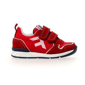 Naturino, Falcotto, hack, sneakers, velcro, rosso, profilo