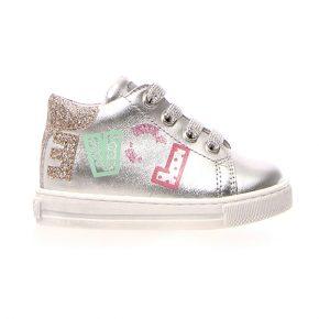 Naturino, Falcotto, imsa, sneakers, lacci, argento, love, profilo