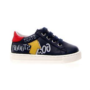 Naturino, Falcotto, mervi, sneakers, lacci, blu, profilo