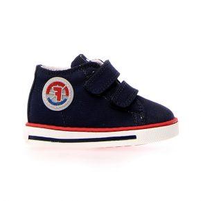 Naturino, Falcotto, michael, sneakers, velcro, blu, rosso, profilo