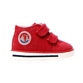 Naturino, Falcotto, michael, sneakers, velcro, rosso, profilo