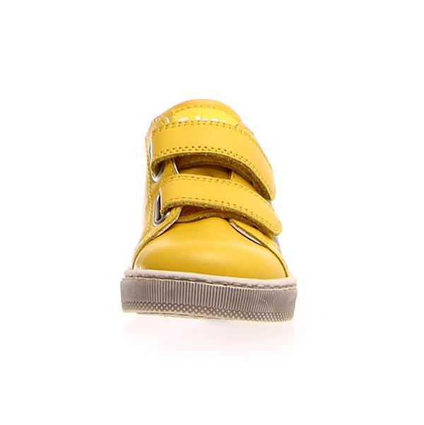 Naturino, Falcotto, narat, sneakers, velcro, giallo, fronte