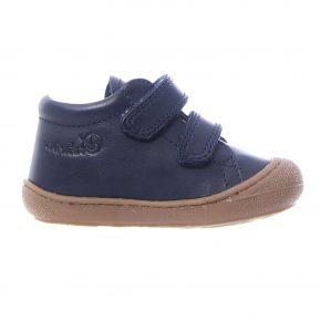 Naturino, Cocoon, Sneakers, velcro, pelle, blu, profilo