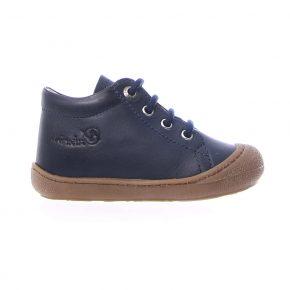 Naturino, Cocoon, Sneakers, lacci, pelle, blu, profilo