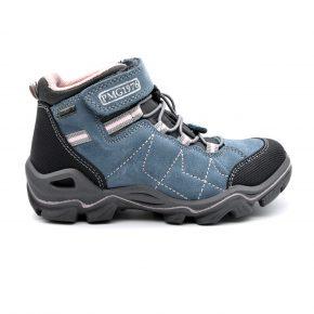 Gore Tex, Primigi, trekking, anti pioggia, water proof, pelle, camoscio, lacci elasticizzati, velcro, grigio, azzurro, rosa, profilo