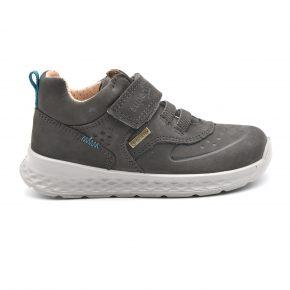 Gore Tex, Superfit, sneakers, water proof, anti pioggia, pelle, terra, marrone, velcro, lacci elasticizzati, profilo